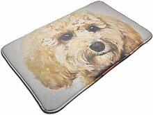 Goldendoodle niedlichen braunen Charme Hund