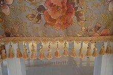 Goldene,grosse blume,europäische tischdecke/tee tischdecke/tischdecke-A 120x160cm(47x63inch)