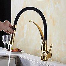 Goldene Persönlichkeit Kreative Wasserhahn