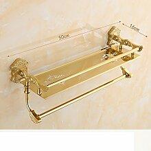 Goldenen Stil Handtuchhalter/ Goldene Handtuchhalter/Folding WC Rack/ Bad-Accessoires-J