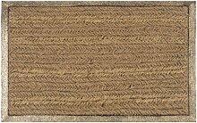Goldfarbene Fußmatte 40x60