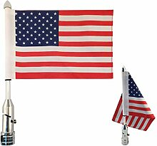 Goldfire Motorrad American Flag 15,2 x 22,9 cm +