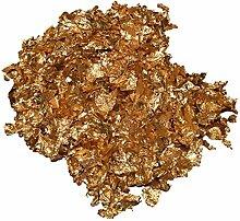 Goldflocken Goldflakes Blattgold 1,1 oder 2,2