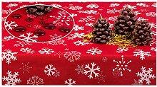 GOLDMAR Weihnachtstischdecke Fleckenresistente
