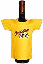Goldstück 1995 zum 21. Geburtstag Party Deko lustiges Mini T-Shirt Flaschen Shirt 21 Jahre Geschenk : )