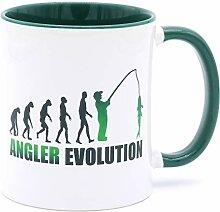 Golebros Angler Evolution Tasse Becher Angel
