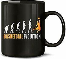 Golebros Basketball Evolution Fan Fanartikel Tasse