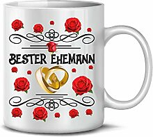 Golebros Bester Ehemann 6242 Tasse Becher Kaffee