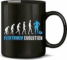 Golebros Elektriker Evolution 4576 Handwerk Lustig