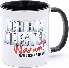 Golebros Ich Bin Meister Tasse Becher Geschenk
