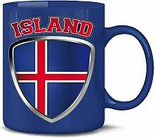 Golebros Island Iceland Fan Artikel 4693 Fuss Ball