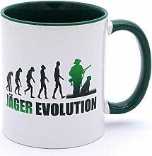 Golebros Jäger Evolution 4606 Tasse Becher mit