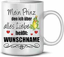 Golebros Mein Prinz Wunsch Name 6344 Tasse Becher