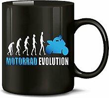 Golebros Motorrad Evolution Chopper Tasse Becher
