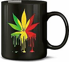 Golebros Reggae Blatt 5340 Tasse Becher