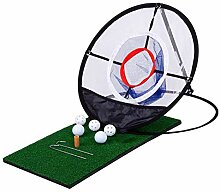 Golf Net Set Komplett mit 1 Chipping-Matte,