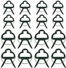 GOLRISEN 60 Stück Pfanzenclips Stabile