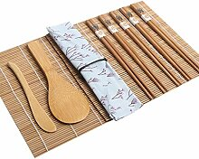 goneryisour Sushi-Set für Anfänger, tragbares