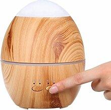 Goney Nachtlicht Duftlampe Ei Holz Aromatherapie