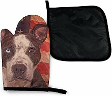 gong Amerikanische Flagge USA Dog Bul