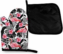 gong Pink Tropical Flamingo Sommer Pink Retro