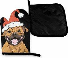 gong Staffordshire Bull Terrier Weihnachtshund