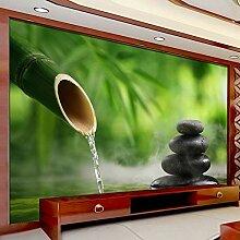GONGFF 3D fototapete grün Bambus