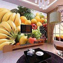GONGFF 3D fototapete Obst gemüse dekor malerei