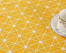 GONGFF Tischdecke Geometrische Tischdecke