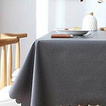 GONGFF Tischdecke tischdecke PVC Kunststoff