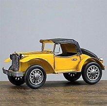 GONGFF Vintage Eisen Oldtimer Modell Dekoration