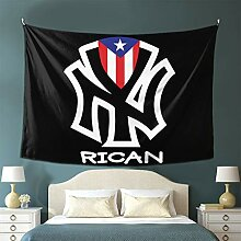 GONGHE Puerto Rico Flaggen Rican Tapisserie