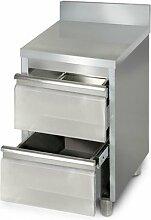 Goo gastro schubladenschranke gunstig online kaufen for Schubladenschrank küche