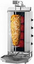 GOO Gastro GO6215G Gewerbe Dönergrill 4 Brenner /