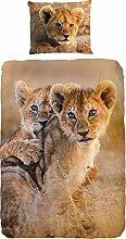 Good Morning! Bettwäsche Baby Lion Renforcé