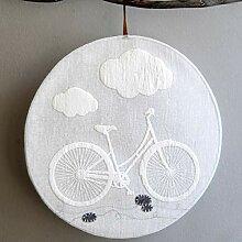 Good old Friends Fensterbild - Fahrrad