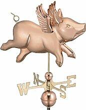 good Richtungen 9612p Flying Pig Wetterfahne,