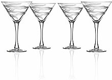 Good Vibrations Martiniglas, 284 ml, 4 Stück