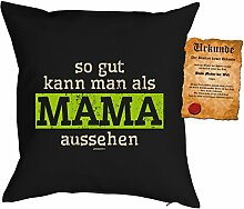 Goodman Design ® Deko-Bezug/Mama-Kissenbezug