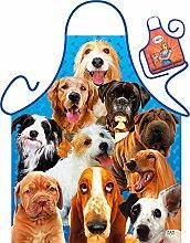 Goodman Design  Witzige Schürze mit Motiv - Dogs,
