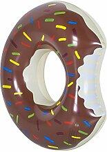 Goods & Gadgets Aufblasbarer Donut Schwimmreifen