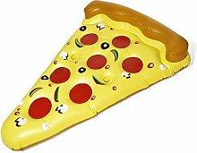 Goods & Gadgets Pizza Luftmatratze Aufblasbare