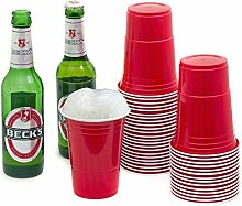 Goods & Gadgets Red Cups Partybecher