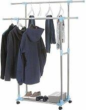 Goods & Gadgets Rollbarer Kleiderständer