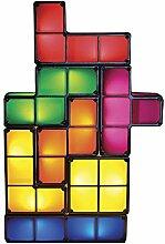 Goods & Gadgets Tetris Lampe Stapelbare LED