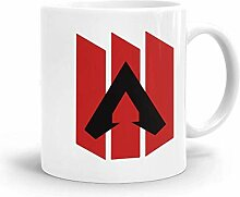 Goodsthing Apex Legends Logo 1 Kaffeebecher Weiße