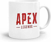Goodsthing Apex Legends Logo 4 Kaffeebecher Weiße
