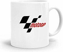 Goodsthing Moto GP Kaffeebecher Weiße Keramik
