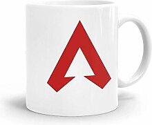 Goodsthing Red Apex Legends Logo Kaffeebecher