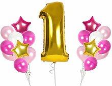 GooDup38 Luftballon-Sets für den ersten